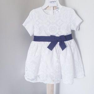 Carters lace dress